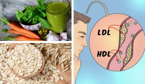 5 домашних средств для очищения артерий от холестерина