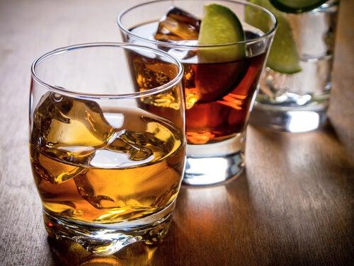 Алкогольные напитки и здоровая диета