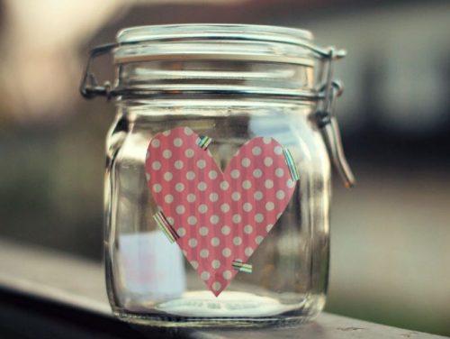 Флакон счастья с сердечком