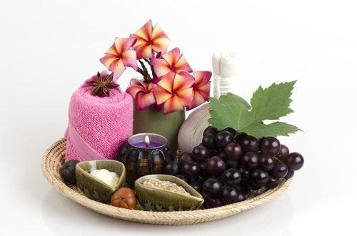 Виноград и меланоз