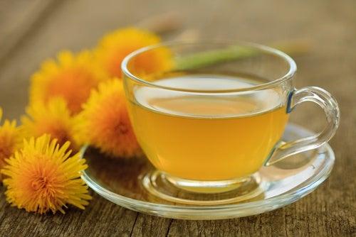 Одуванчик и чай