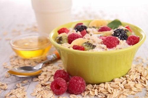 Овес на завтрак и здоровая диета