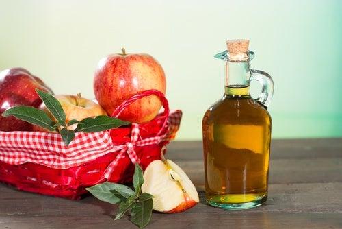 Яблочный уксус и ступни
