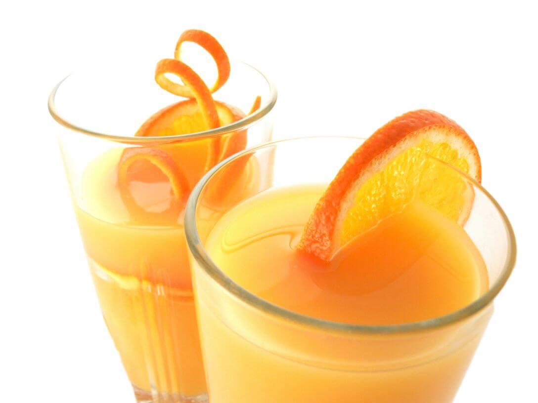 Коктейль из апельсина