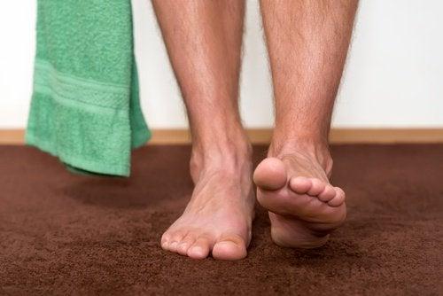 Ноги и лишай на коже