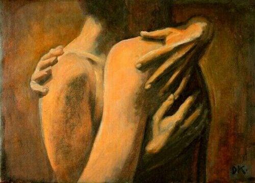 Объятие и гормон любви