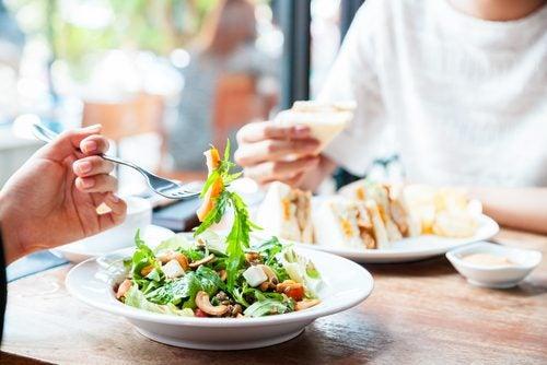 Салат и лишний вес