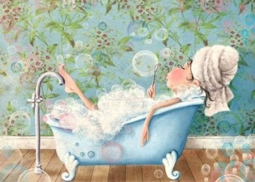 Ванна когда мы чувствуем себя разбитыми
