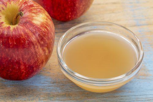 Яблочный уксус вылечит лишай