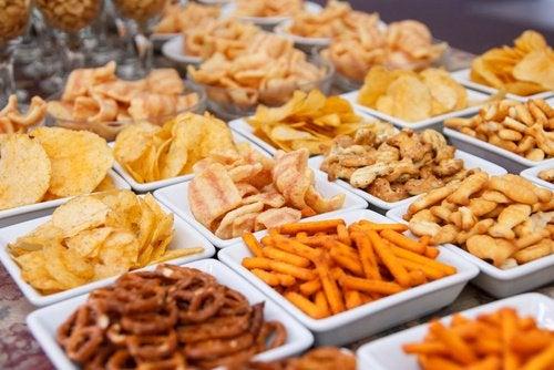Жареные блюда и продукты и здоровая диета