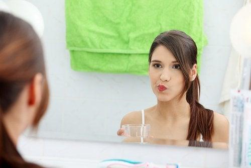 Яблочный уксус для полоскания полости рта