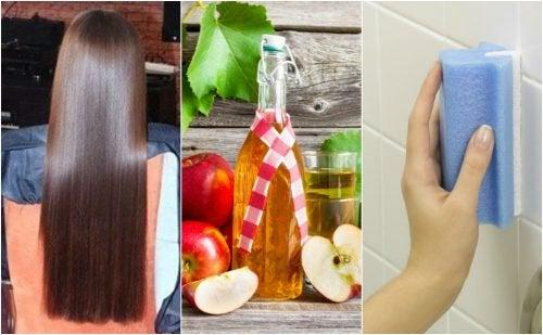 Применение яблочного уксуса в быту, косметологии и медицине