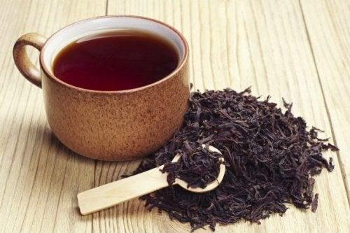 Черный чай и седина