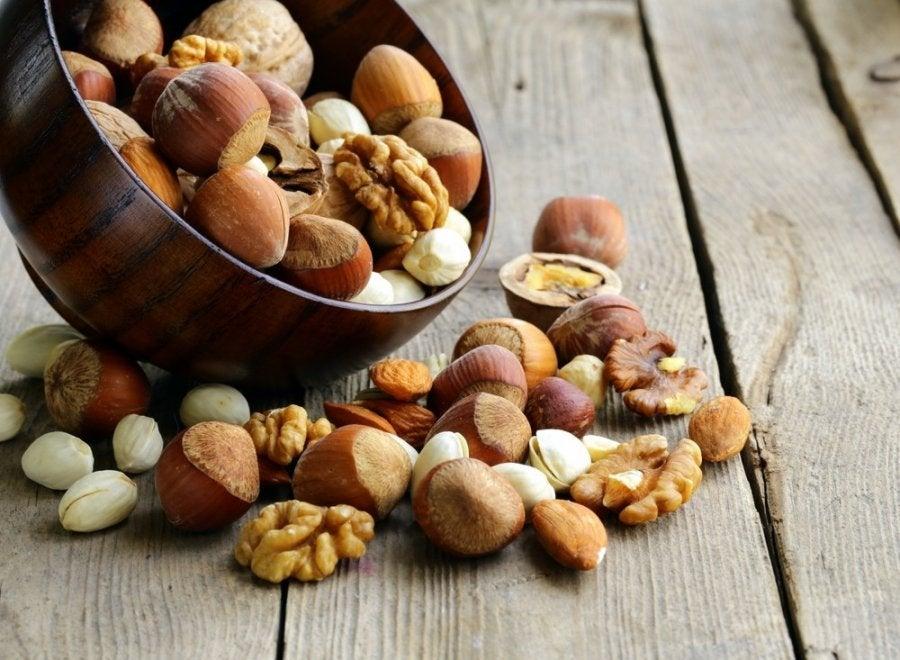 Орехи помогут победить целлюлит