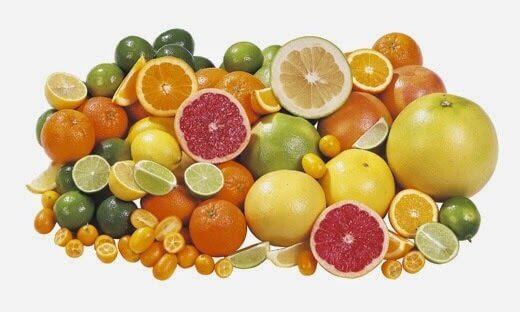 Цитрусовые фрукты в рацион при артрозе