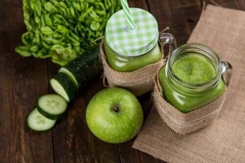 Зеленые соки для детоксикации толстой кишки