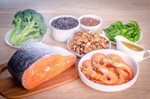 Источники жирных кислот Омега-3 и Омега-6