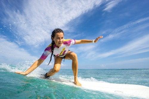Серфинг поддерживает наш мозгв форме
