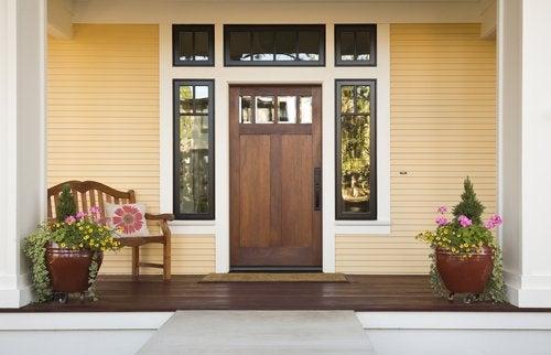 Входная дверь и феншуй