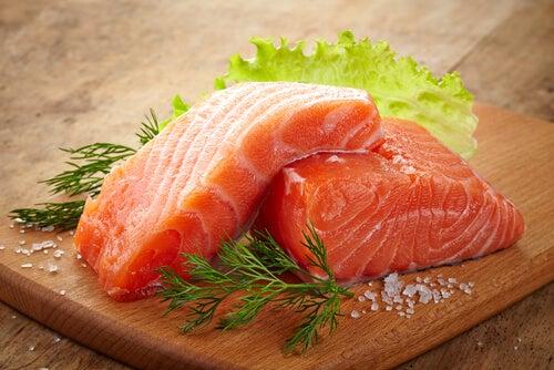 Голубая рыба заботится о здоровье почек