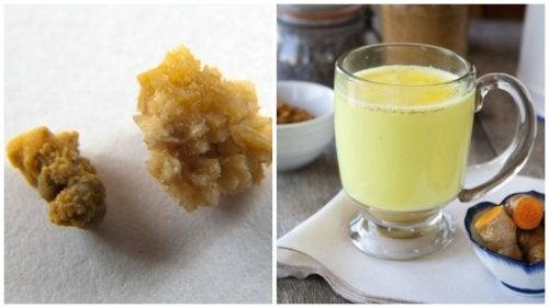 Здоровые почки: чай из имбиря и куркумы против камней в почках