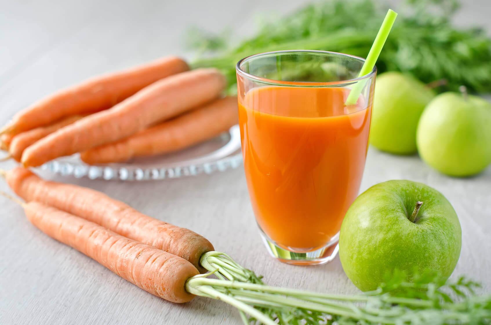 Морковный коктейль и вздутие живота