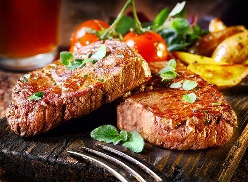 Низкое артериальное давление и мясо