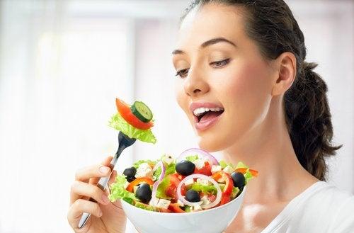 Здоровая кожа и питание