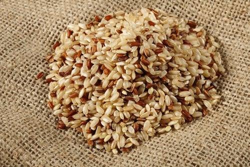 Бурый рис и мелатонин
