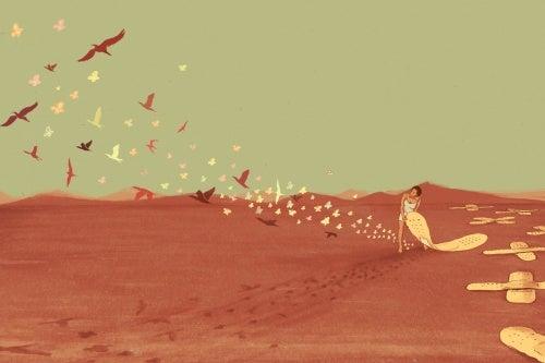 Сильная личность и птицы