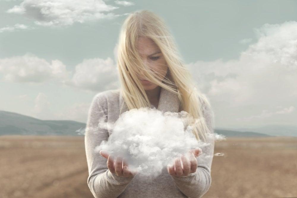 Сильная личность и облако