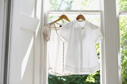Привычки сушить белье в доме