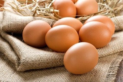 Яйца и Дегенерация жёлтого пятна