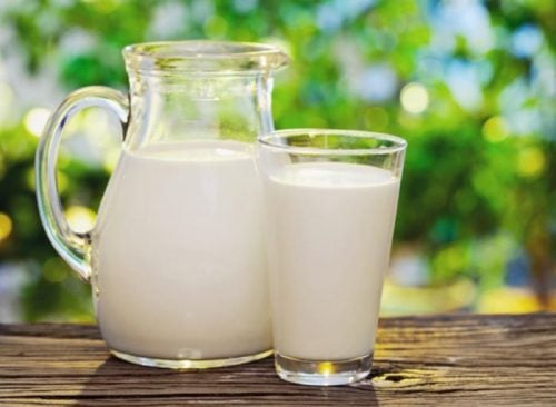 Молоко и наше лицо