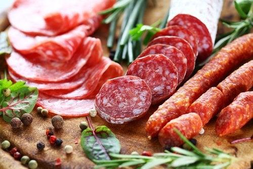 Кислотный рефлюкс и колбасы