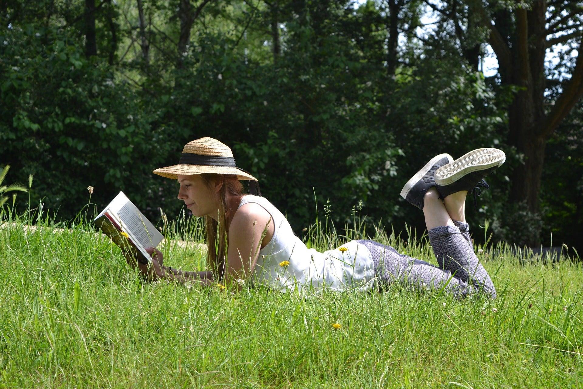 Читая книгу про растения