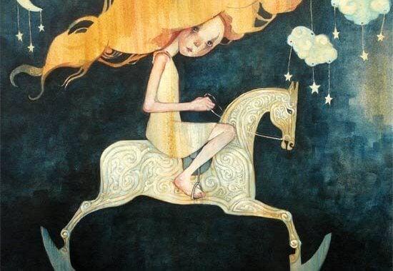Девочка на лошадке