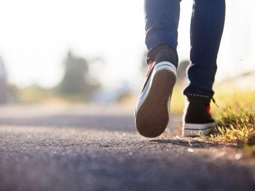 Ходьба положительно влияет на здоровье