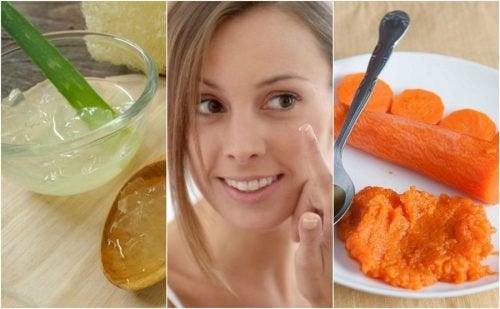 Как убрать мимические морщины: 5 домашних кремов