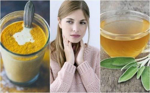 Эти 6 натуральных средств помогут успокоить боль в горле