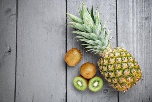 Натуральные скрабы с фруктами