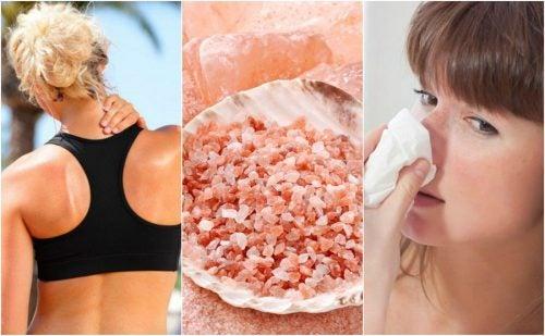 Розовая Гималайская соль и 10 ее преимуществ!