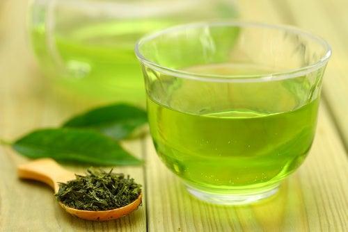 Напиток зеленый чай