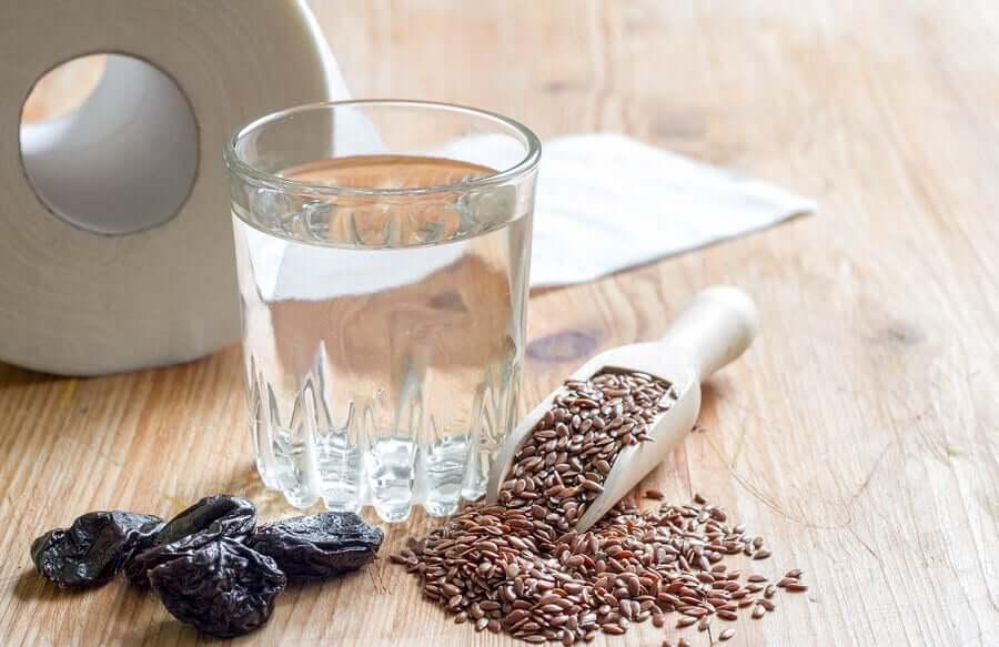 Вода и семена