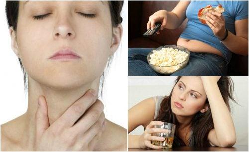 7 вещей, которые негативно влияют на здоровье щитовидной железы