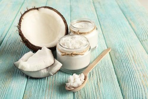 Зубной налёт и кокосовое масло