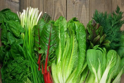 Зеленые салаты и нервы