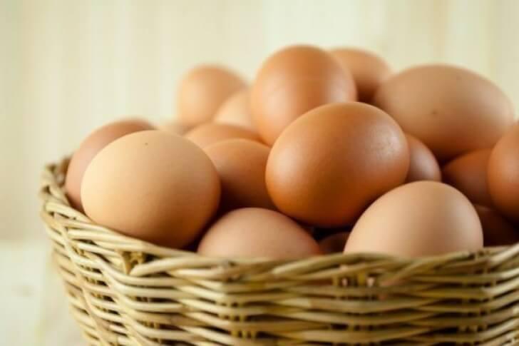 Яйца улучшают кровь