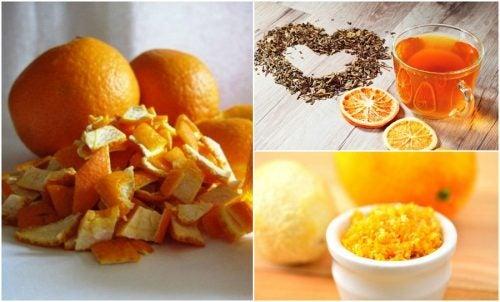 Апельсиновая кожура и 5 альтернативных способов ее использования!