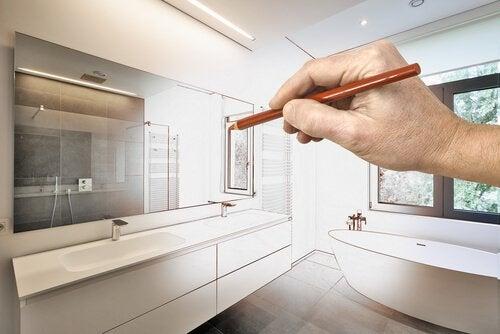 Дизайн ванной комнаты и организация пространства